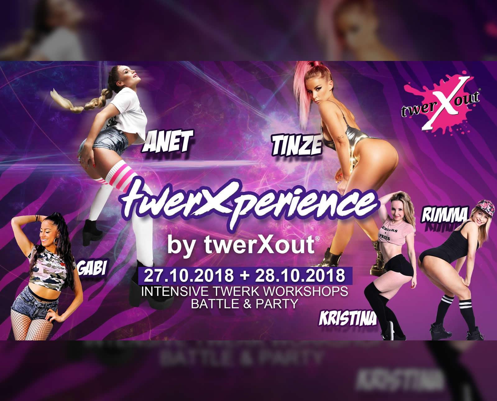twerXperience –  Intensive Twerk Workshops by twerXout®