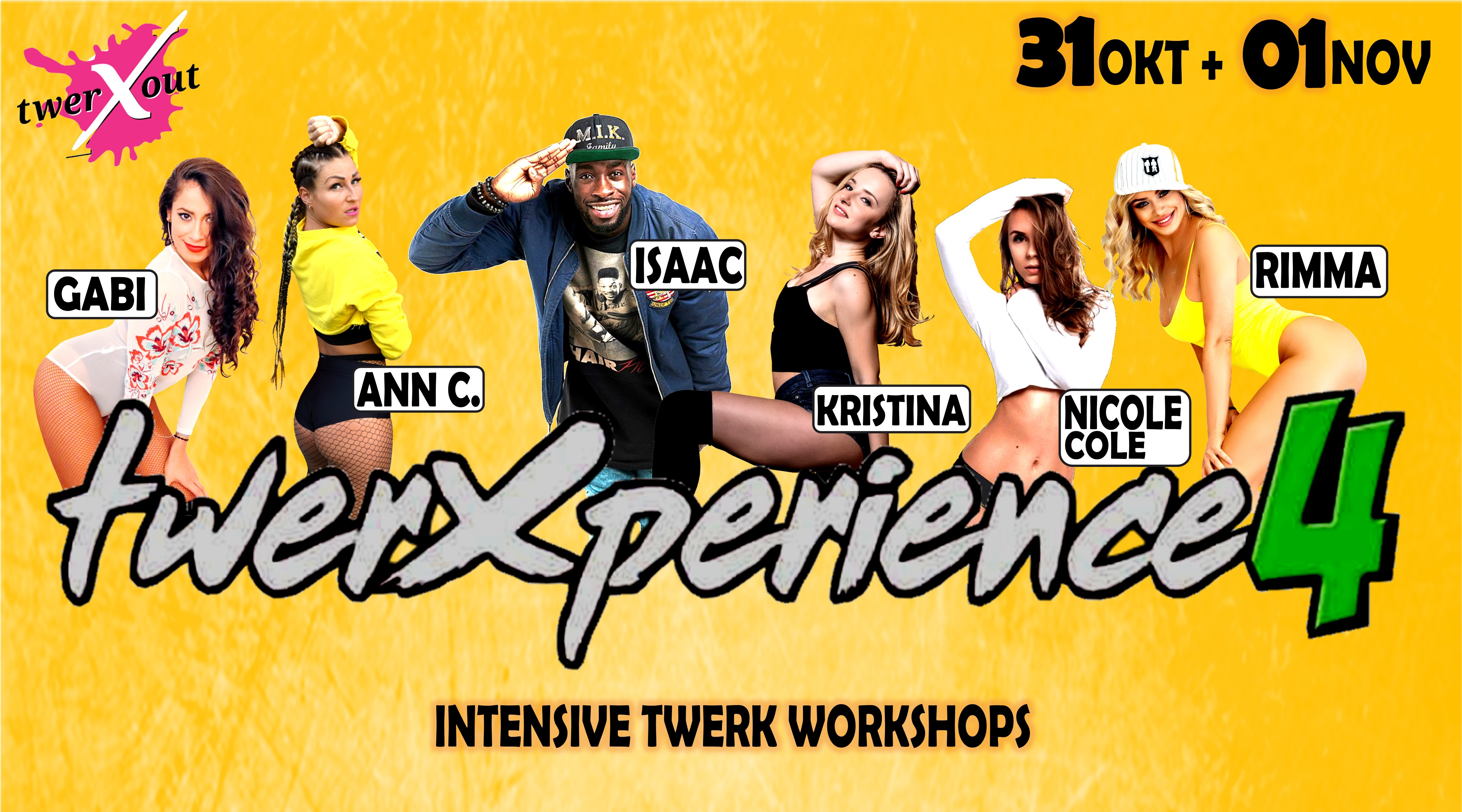 twerXperience No. 4 (Part 2)-  Intensive Twerk Workshops by twerXout®